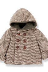 1 + in the family Pollino hood jacket Rose/terrau