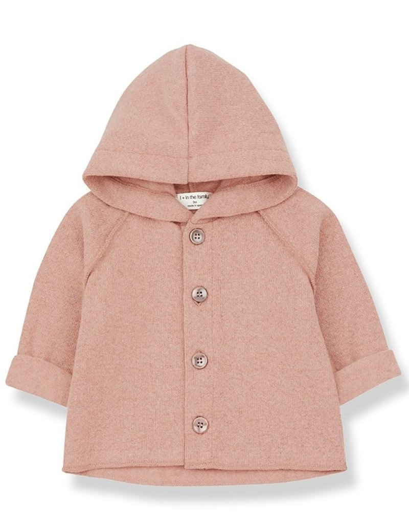1 + in the family Sau hood jacket Rose