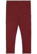 Soft Gallery Baby Paula oxblood red legging