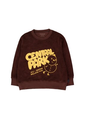 Tiny Cottons Central Park Sweatshirt brown/yellow