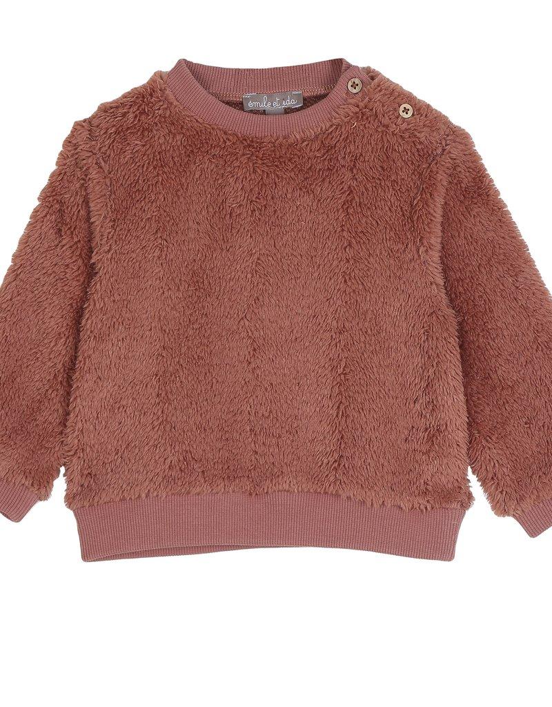 Emile & Ida Rosa sweatshirt R015