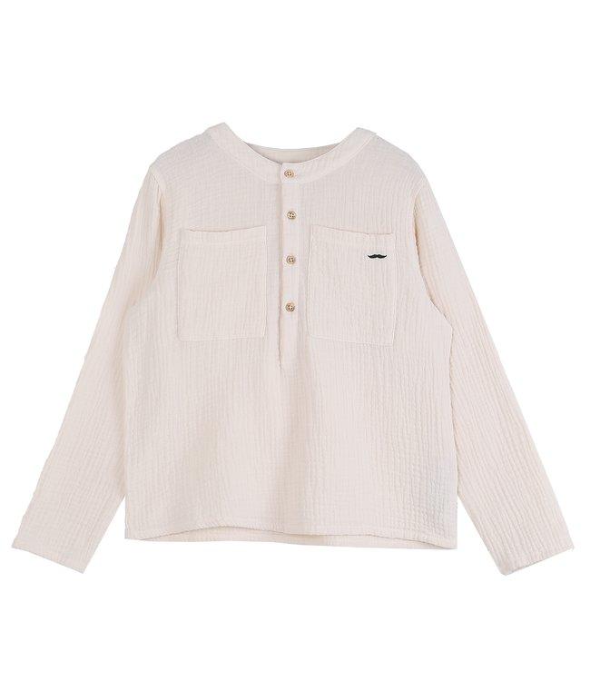 Emile & Ida Ecru blouse R035