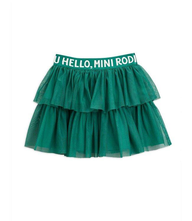 Mini Rodini Tulle skirt Green