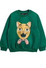 Mini Rodini Cat choir sweatshirt Green
