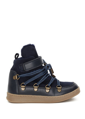 Bear & Mees B&M Snowboots Royal blue