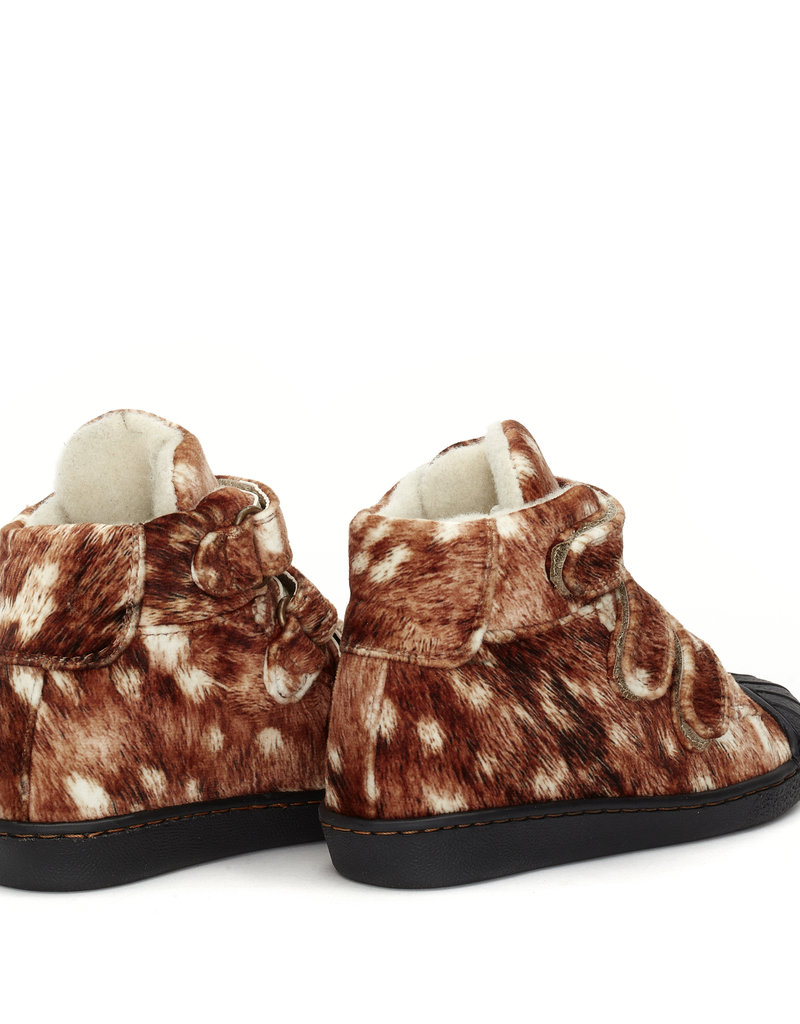 Bear & Mees B&M High top sneaker Oh Deer