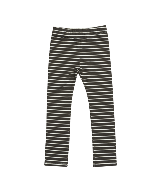 Blossom Kids Legging petit stripe Expresso Black
