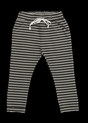 Blossom Kids Strap cord joggers Petit stripes Expresso black
