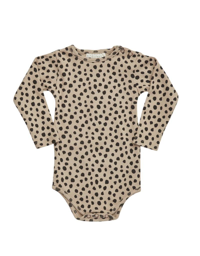 Blossom Kids Printed rib Body Animal dot