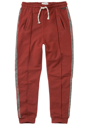 Sproet & Sprout Trackpants Beet Maroon