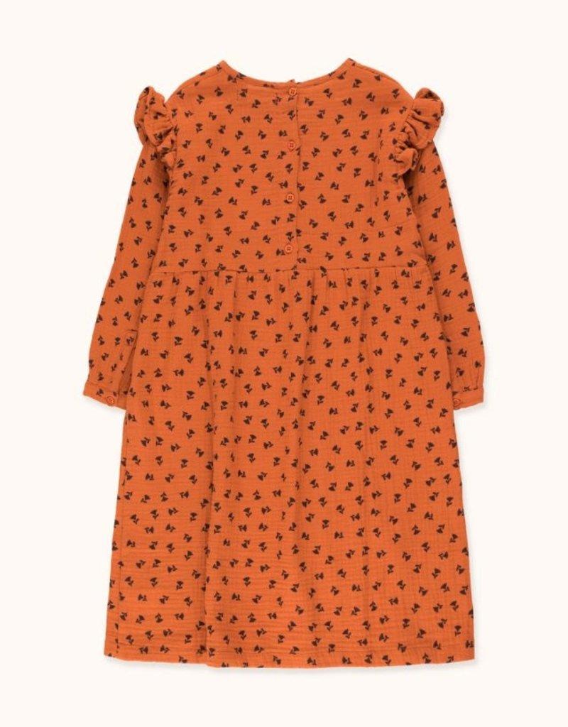 Tiny Cottons Tiny Flowers dress sienna/navy