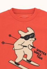 Tiny Cottons Skiiing Dog sweatshirt
