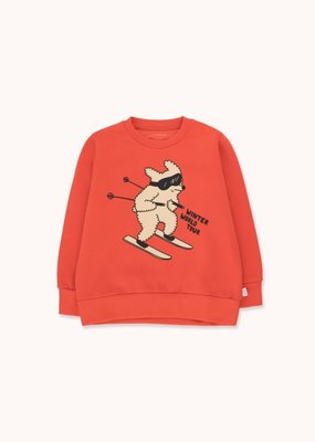 Tiny Cottons Skiiing Dog sweatshirt