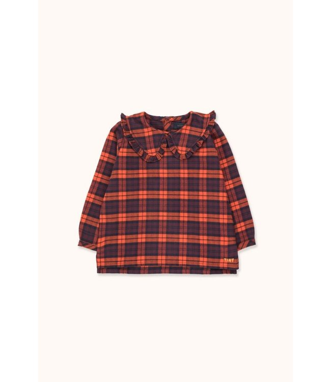 Tiny Cottons Check Shirt navy/red
