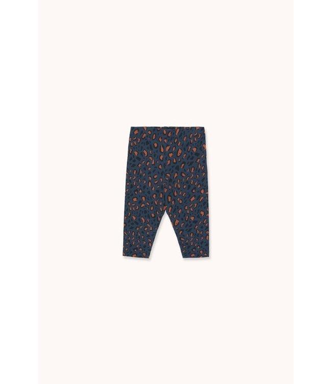 Tiny Cottons Animal Print Pant light navy/dark brown