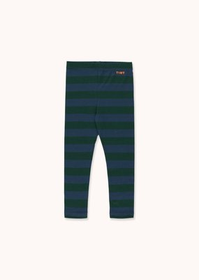Tiny Cottons Tiny Stripes pant dgreen/lnavy