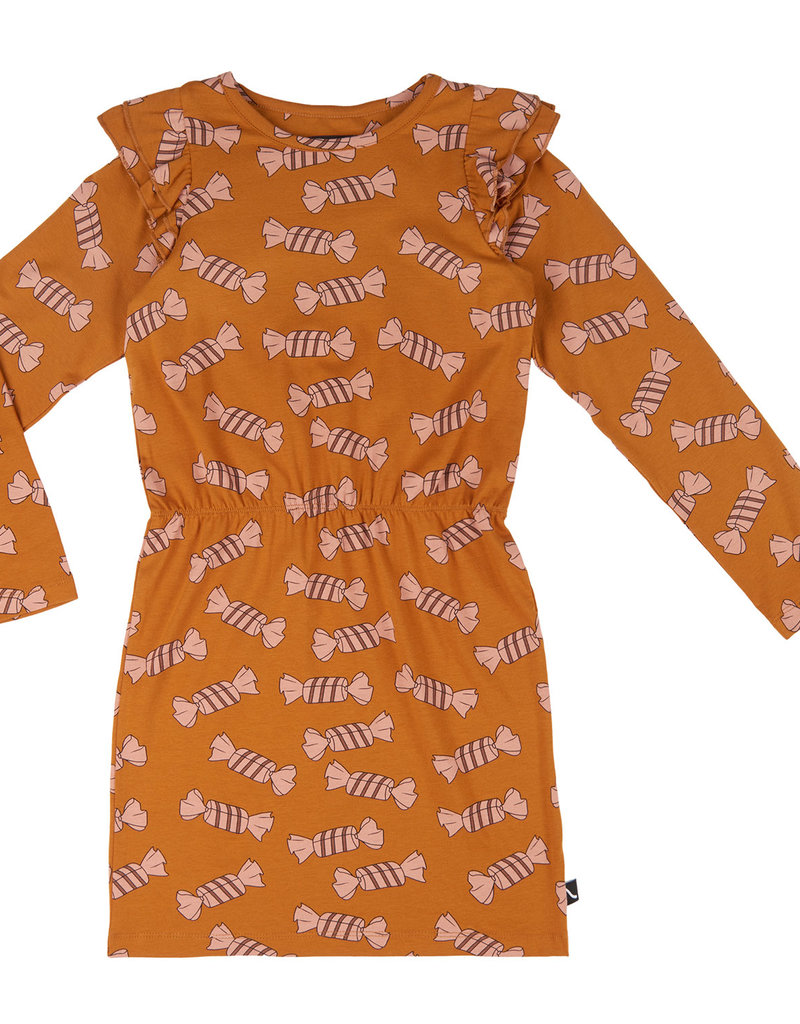 CarlijnQ CQ Candy dress blouson with ruffles