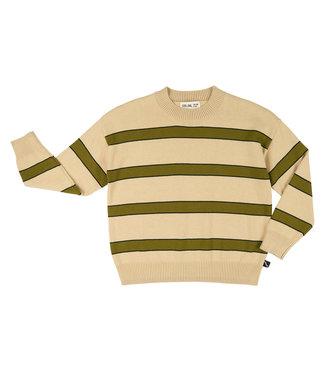 CarlijnQ CQ Basics knit sweater stripe