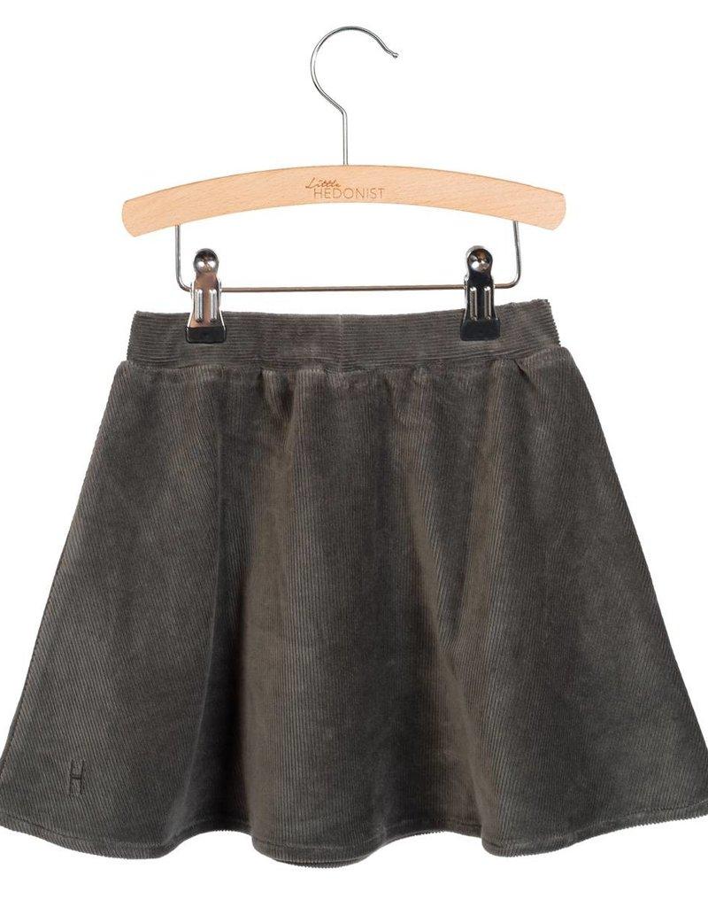 Little Hedonist LH Pleated skirt Mesa Pirate black