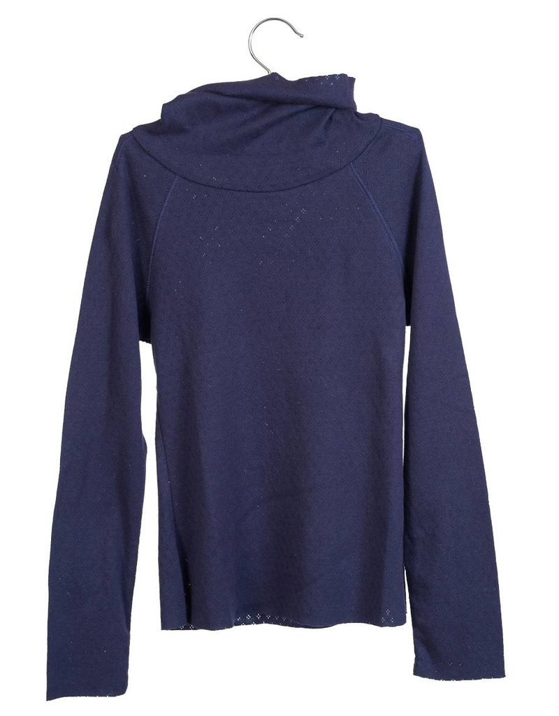 Little Hedonist LH Turtle shirt Pascal Night blue ajour