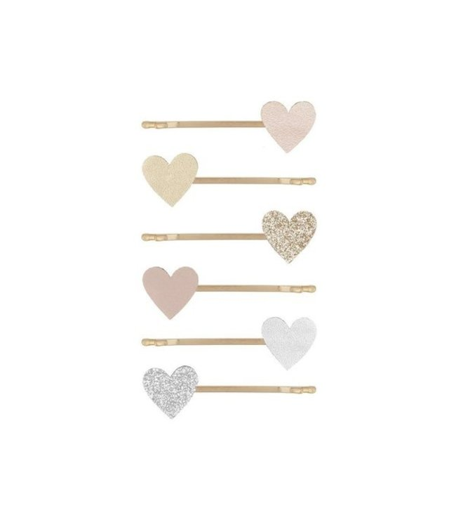 Mimi & Lula Love heart clips