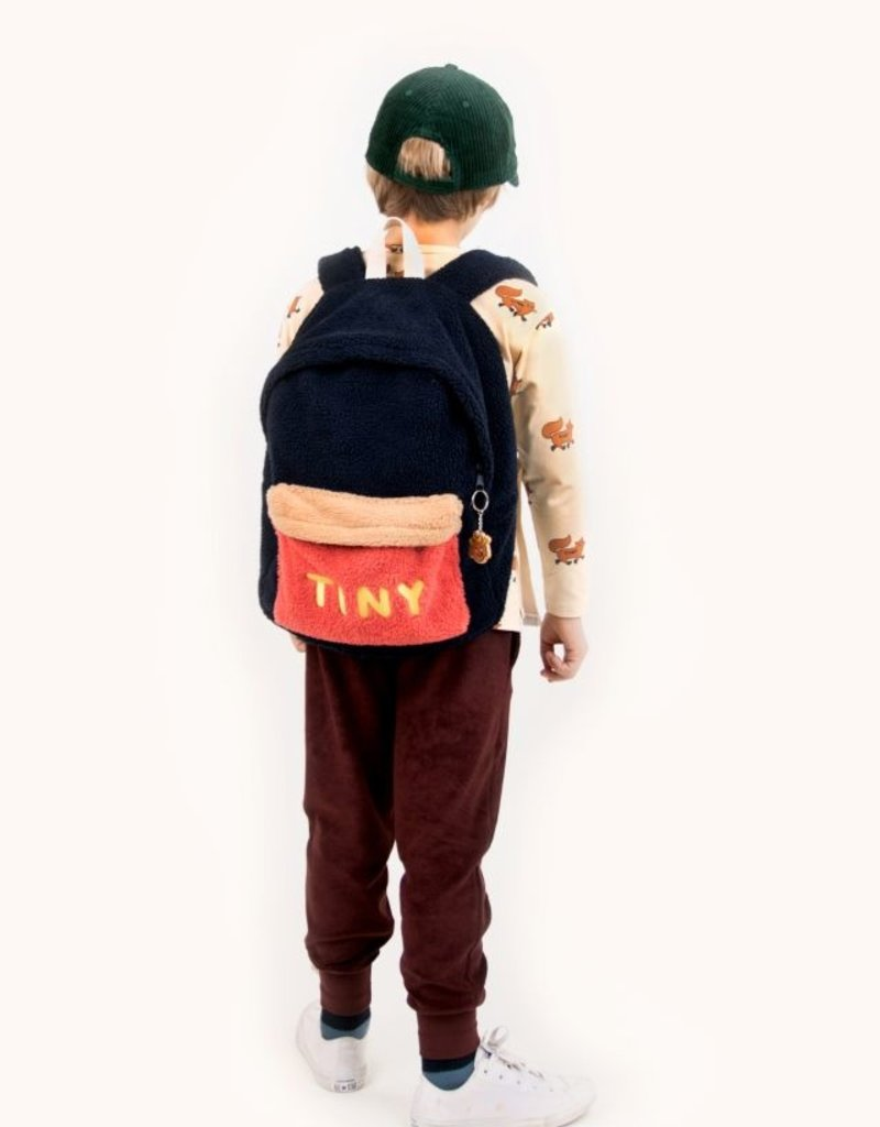 Tiny Cottons Tiny Big color block backpack Navy