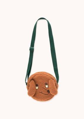 Tiny Cottons Tiny Dog sherpa bag brown