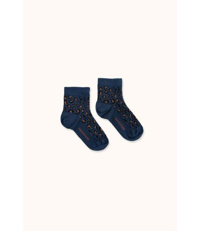 Tiny Cottons Animal pattern quater socks