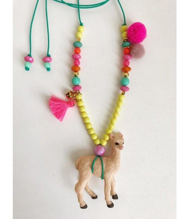ByMelo Ketting alpaca