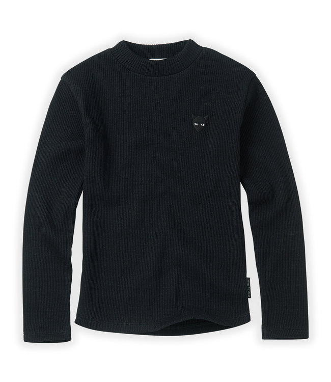 Sproet & Sprout T-shirt Rib Black