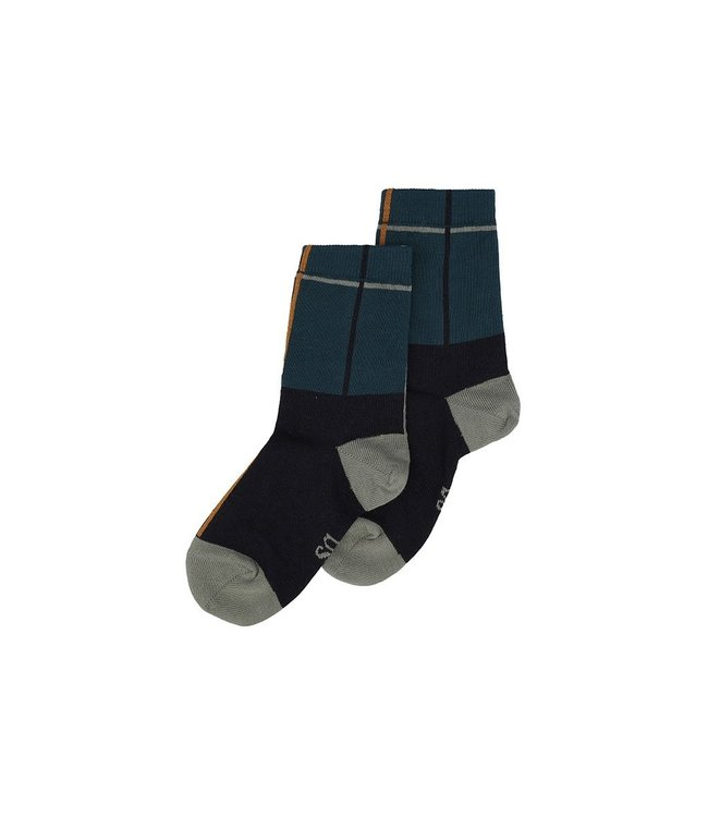 Soft Gallery Socks Carbon balsem green