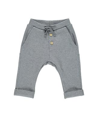 MarMar Copenhagen Pelo B baby pants Grey blue melange