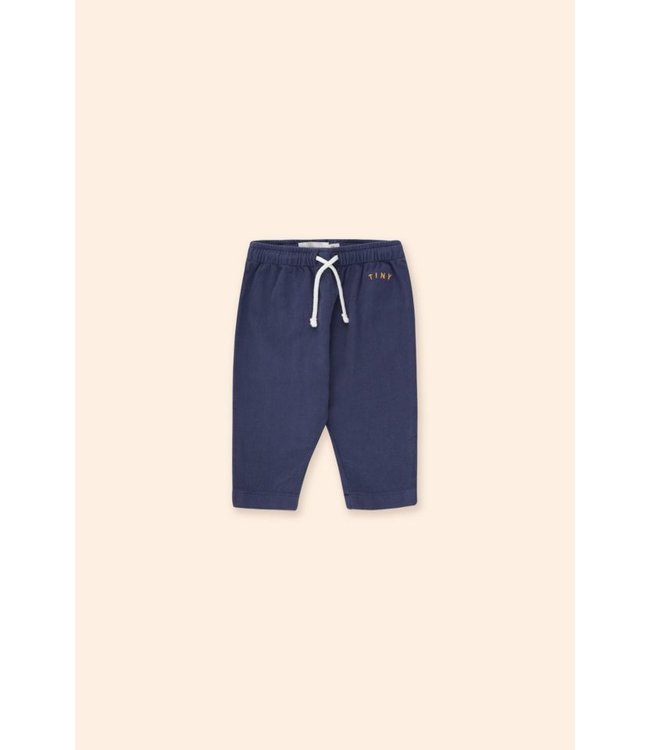 Tiny Cottons Solid baby pant Indigo