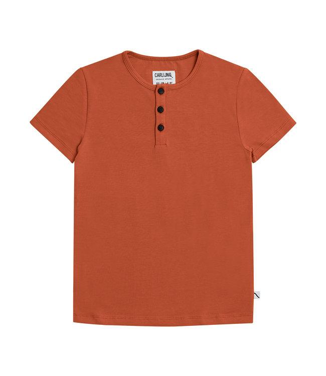 CarlijnQ Henley short sleeves