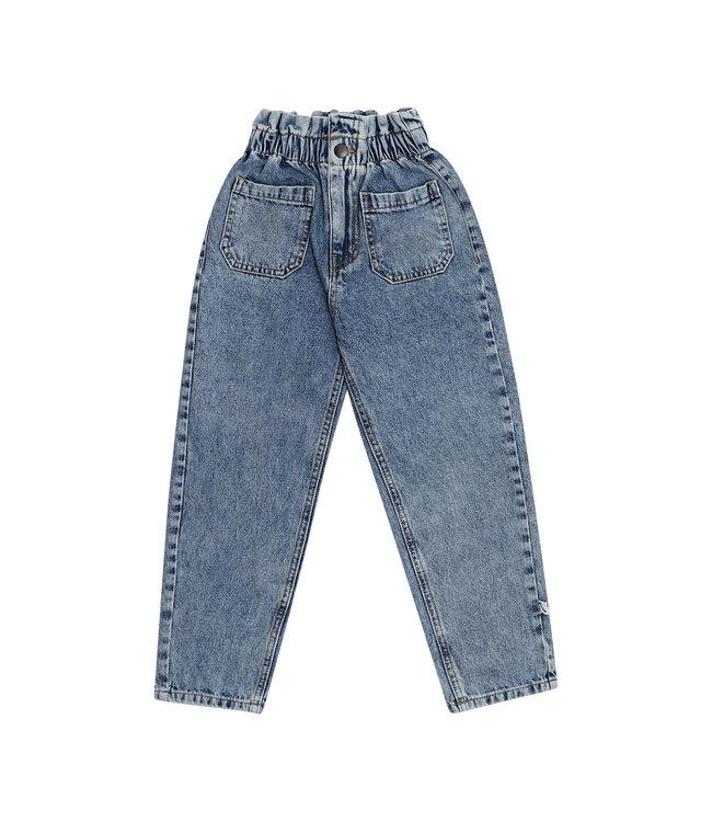 CarlijnQ CQ Denim High waste pants