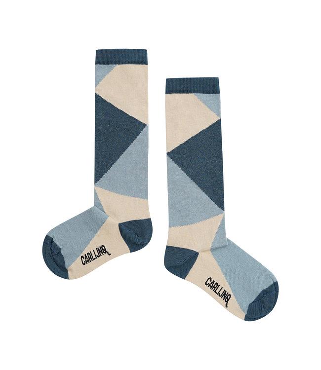 CarlijnQ Knee socks Color Block