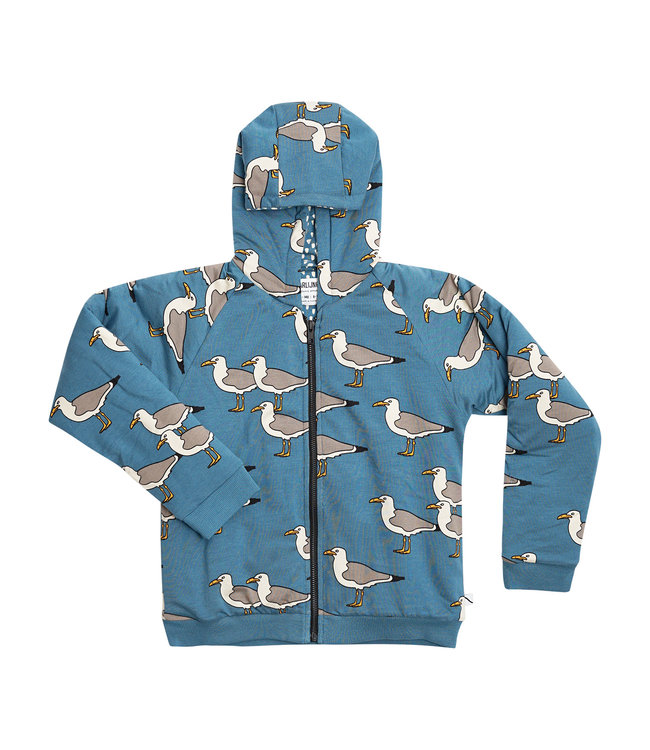 CarlijnQ Seagull bomber hoodie