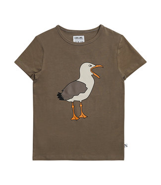 CarlijnQ Seagull tshirt print