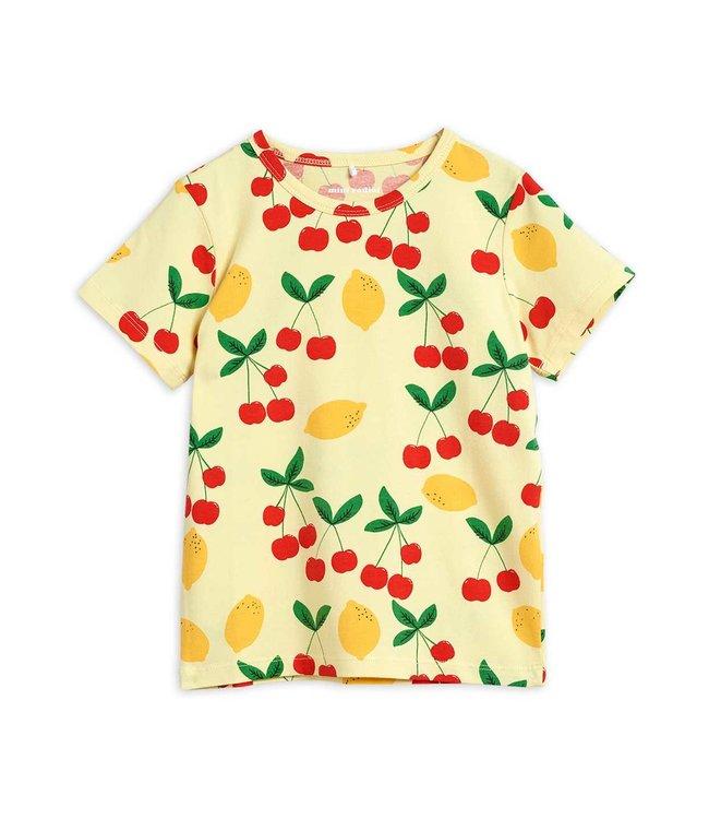 Mini Rodini Cherry lemonade ss tee