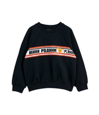 Mini Rodini Moscow sweatshirt Black