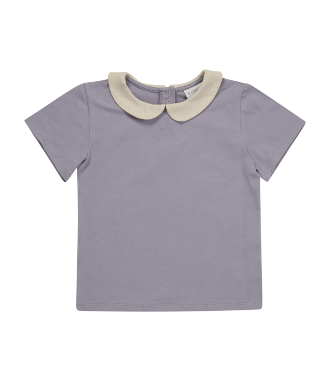 Blossom Kids Peterpan shortsleeve Lavender grey