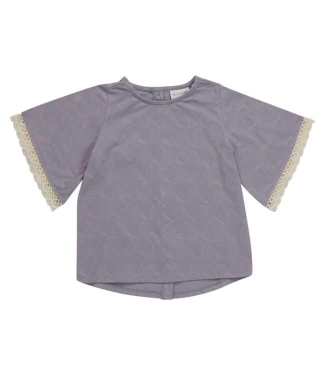 Blossom Kids Tunic shortsleeve Shelves Lavender