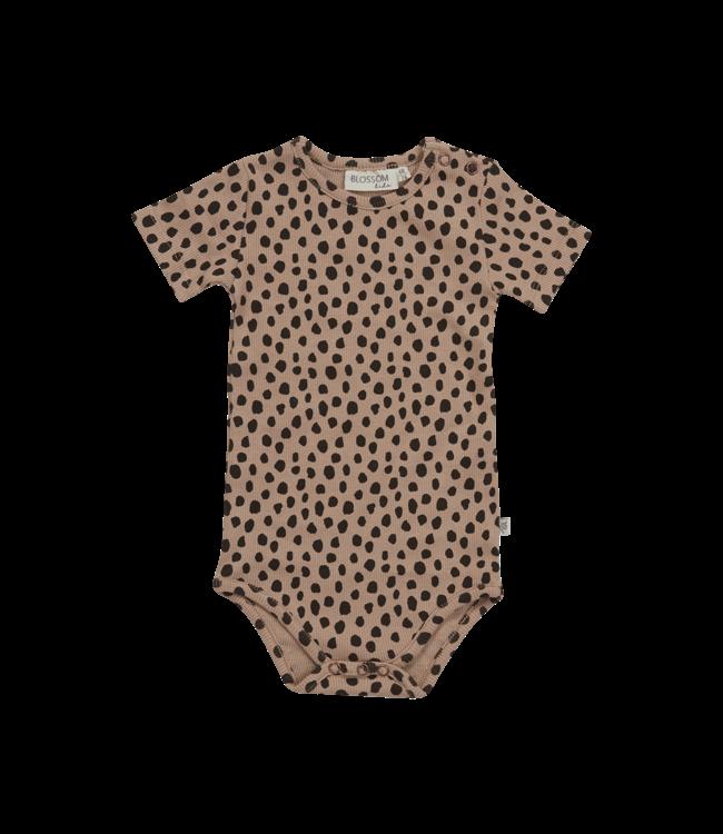 Blossom Kids Body short sleeve Animal dot
