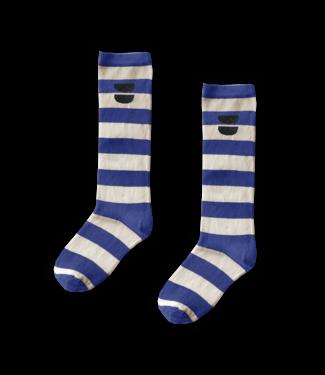 Sproet & Sprout High Sock Stripe Cobalt