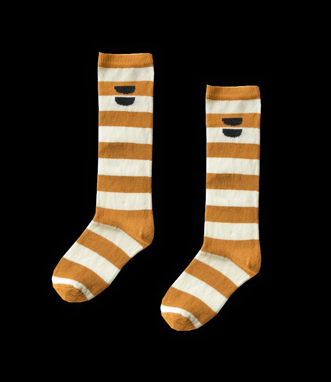Sproet & Sprout High Sock Stripe Desert