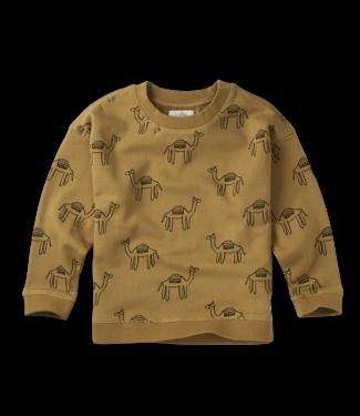 Sproet & Sprout Sweatshirt Print Camel Desert