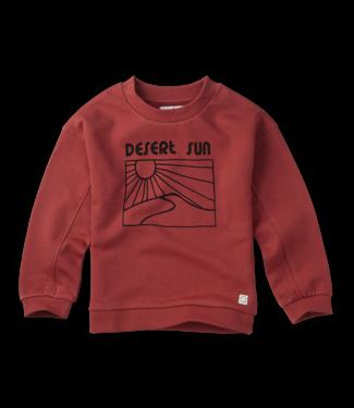 Sproet & Sprout Sweatshirt Desert Sun Cherry Red