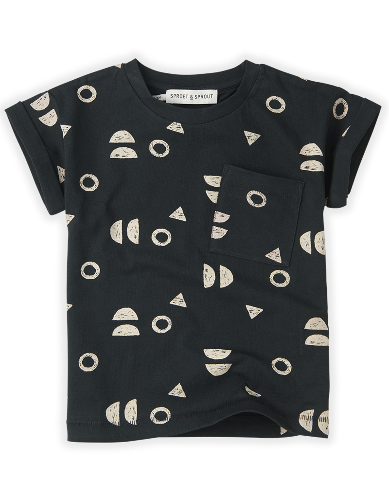 Sproet & Sprout T-shirt Print Abstract Asphalt