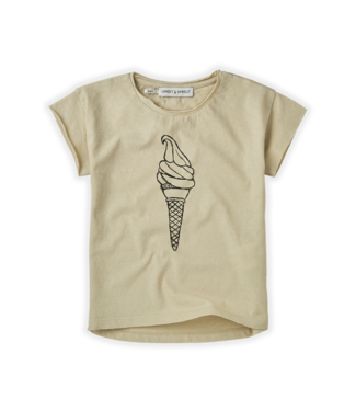 Sproet & Sprout T-shirt Icecream Sesam
