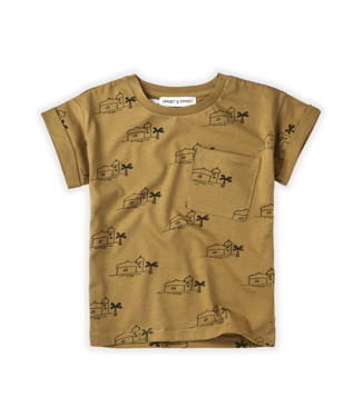 Sproet & Sprout T-shirt Print Oases Desert